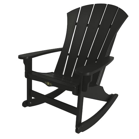 Sunrise Black Adirondack Rocker