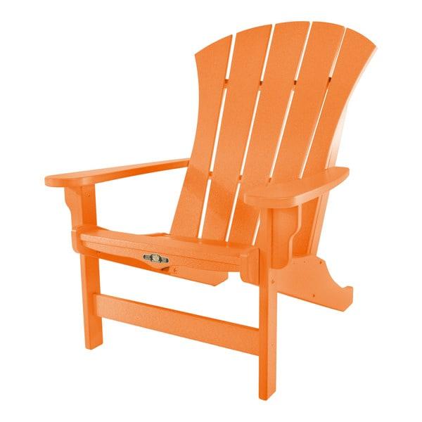 Good Sunrise Orange Adirondack Chair