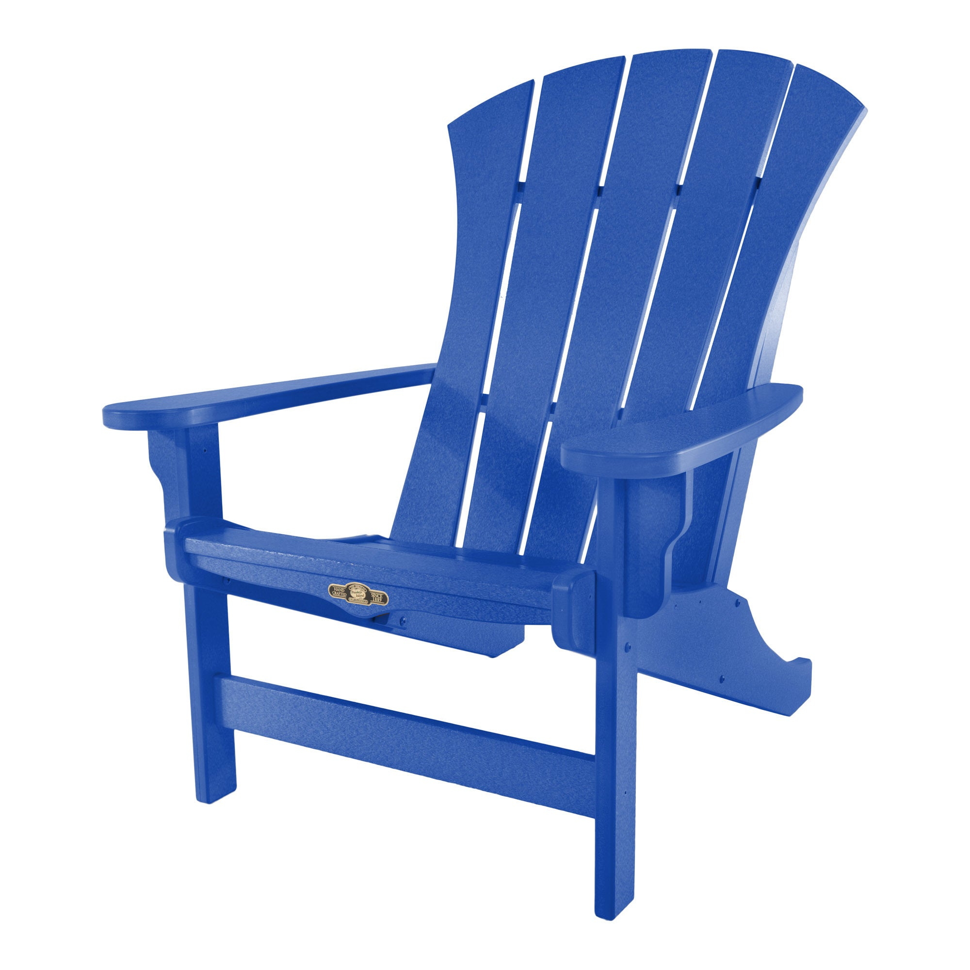 Sunrise Blue Adirondack Chair (blue), Size Single, Patio ...