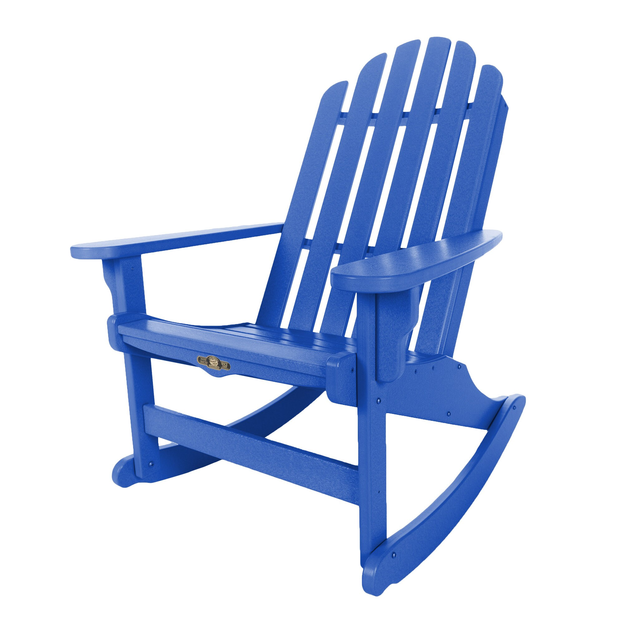 Essential Blue Adirondack Rocker (Blue), Size Single, Pat...