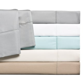 1500 Thread Count Luxury Comfort Cotton-rich Solid Hemstitch Sheet Set