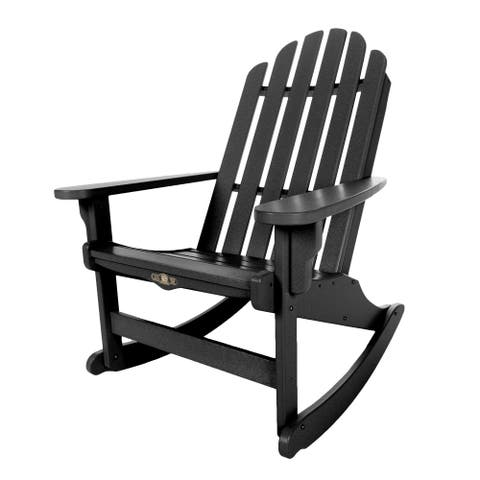 Essential Black Adirondack Rocker