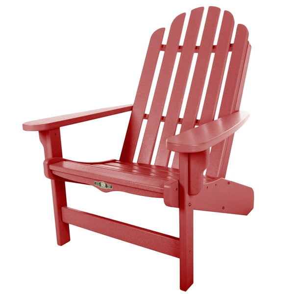 Beau Essentials Red Adirondack Chair