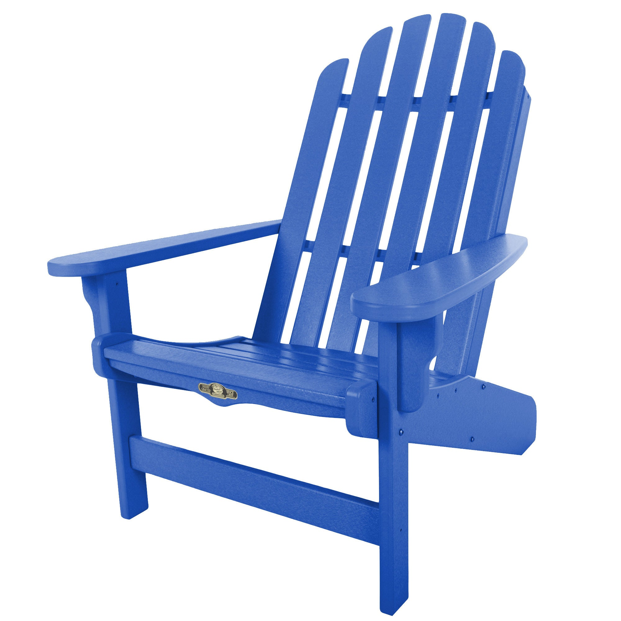 Essentials Blue Adirondack Chair (Blue), Size Single, Pat...