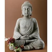 "20"" Tall Serene Meditating Buddha Statue"