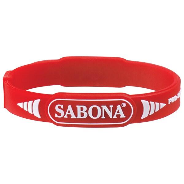 Sabona - Pro Magnetic Sport Braclet,Silicone And Titanium Theraputic Wrist Band
