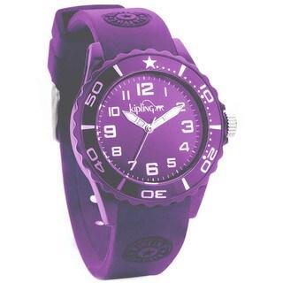 Kipling Children's Purple Silicon Watch