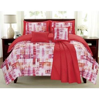 Maddox Cayenne 6-piece Comforter Set