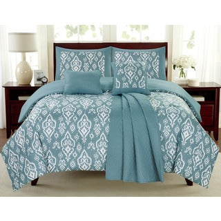 Mayan Blue Juvi 6-piece Comforter Set