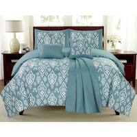 Mayan Blue Juvi 6-piece Comforter Set