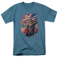 Men's American Flag Superman Shirt