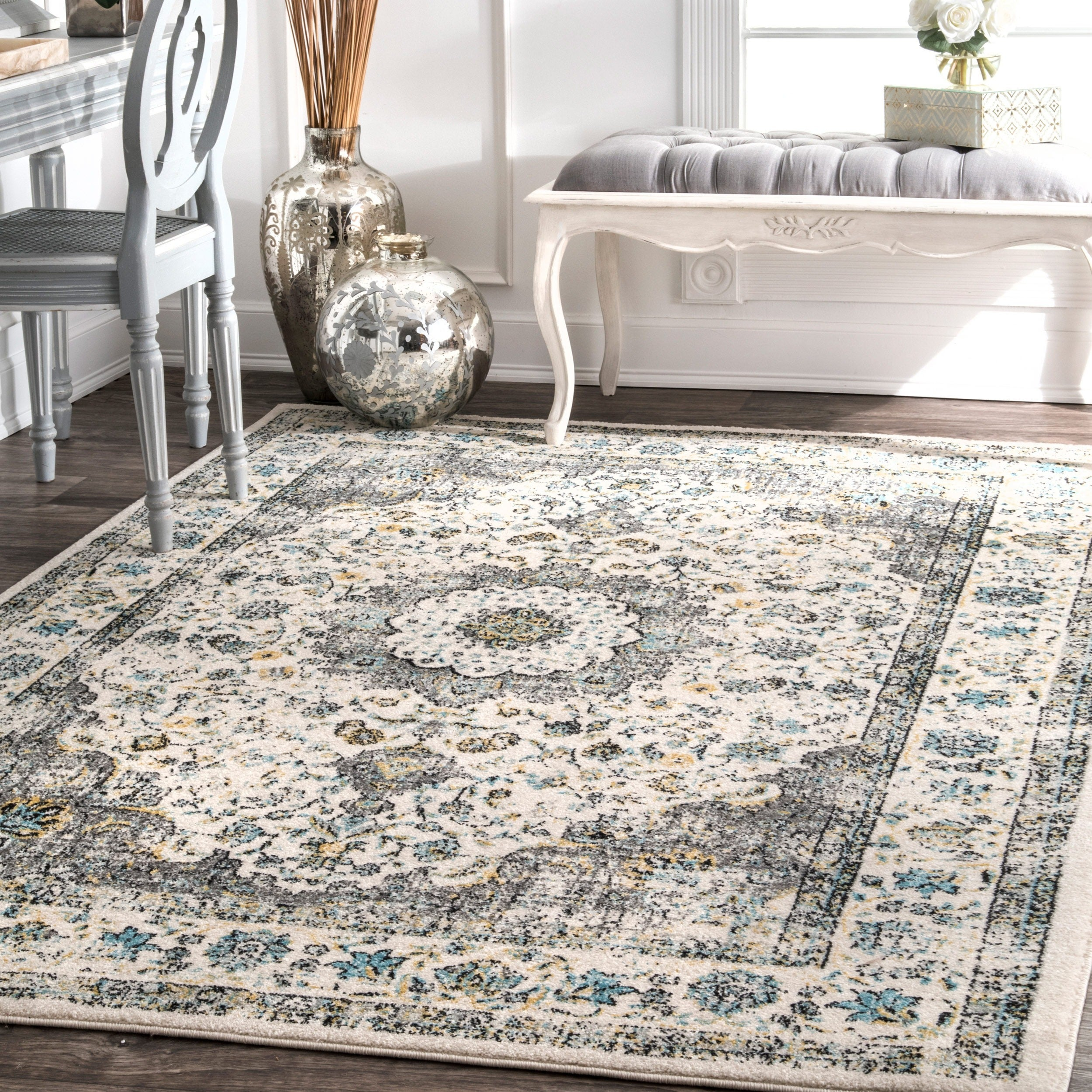 Shop Nuloom Traditional Persian Vintage Rug 4 X 6