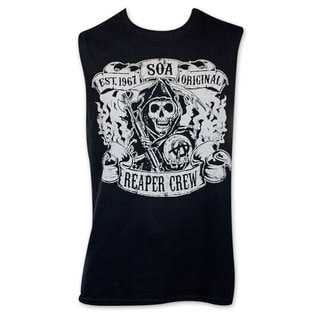 Sons Of Anarchy Black Reaper Crew Tank Top
