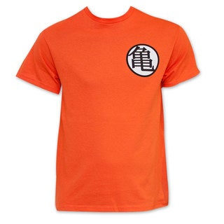 Dragon Ball Z Orange King Kai Goku Symbol Costume T-Shirt