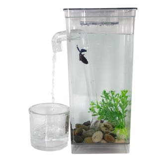 As Seen On TV Self-cleaning Fish Tank|https://ak1.ostkcdn.com/images/products/10359389/P17467348.jpg?impolicy=medium