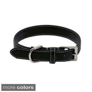 Royce Leather 'Perry Street' Small Dog Collar|https://ak1.ostkcdn.com/images/products/10359412/P17467362.jpg?impolicy=medium