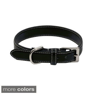 Royce Leather 'Perry Street' Small Dog Collar