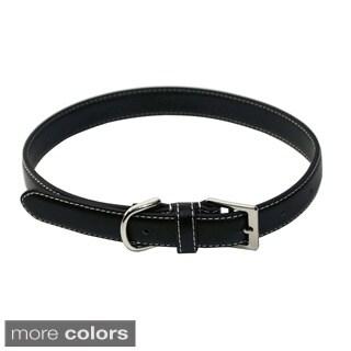 Royce Leather 'Perry Street' Medium Dog Collar
