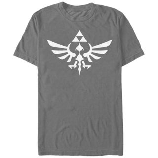 Nintendo Black Men's Zelda Triforce T-Shirt