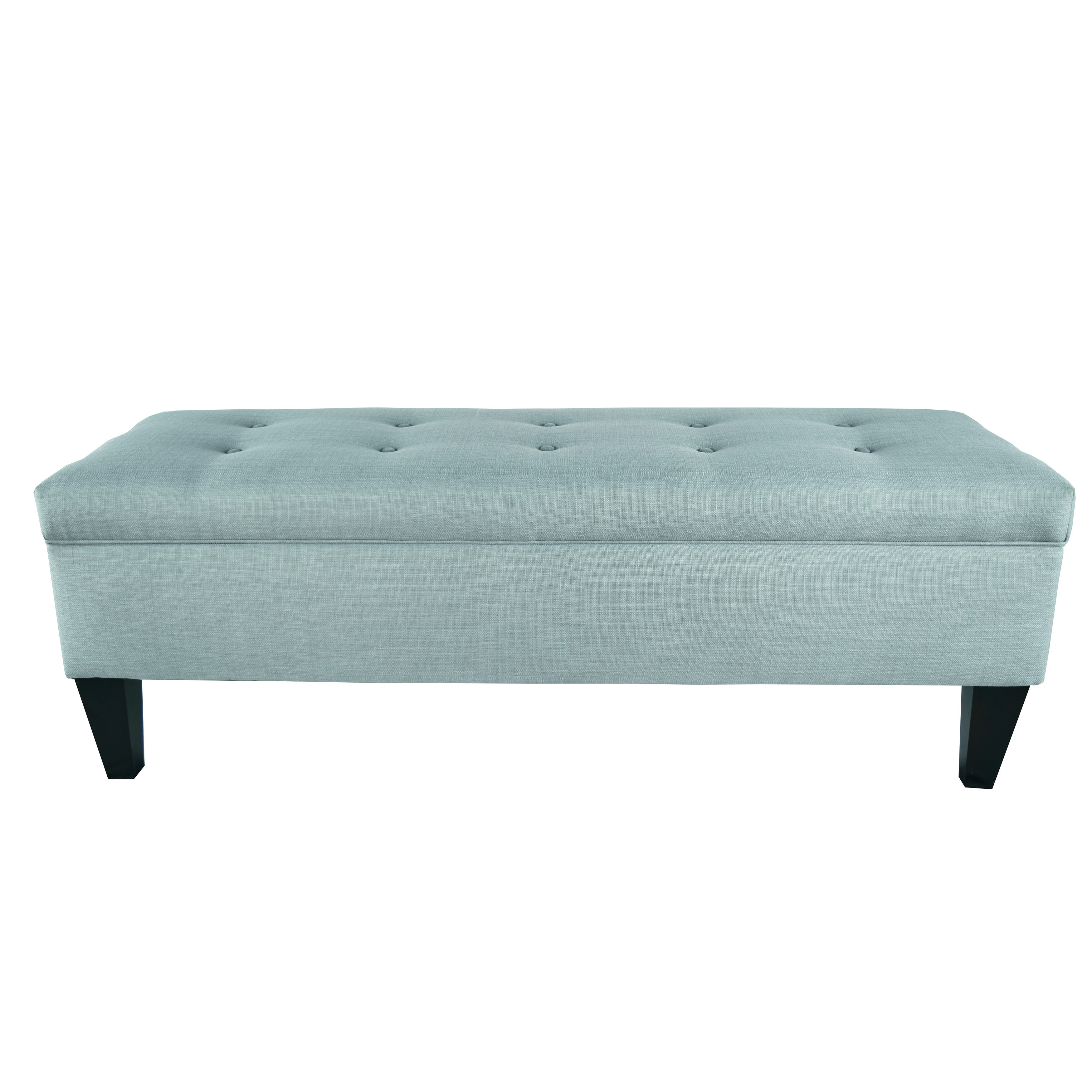 Brooke Button Tufted Long Storage Bench Ottoman On Sale Overstock 10359438