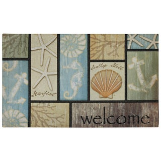 Mohawk Home Doorscapes Drift Wood Welcome (1'6 x 2'6)