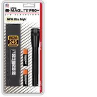 AA Mini Maglite LED Pro+ Blister Holster Pack Black