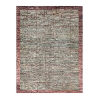 Herat Oriental Afghan Hand-knotted Tribal Vegetable Dye Gabbeh Wool Rug (5'5 x 7'4)