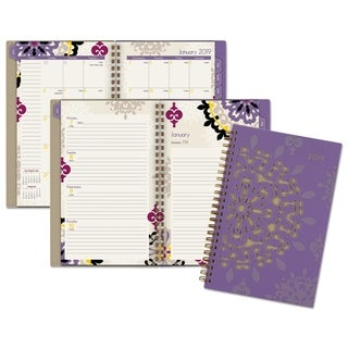 Link to AT-A-GLANCE Vienna Weekly/Monthly Appointment Book, 4 7/8 x 8, Purple, 2019 Similar Items in Planners & Accessories