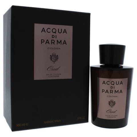 Acqua Di Parma Men's 6-ounce Oud Intense Cologne Concentree Spray