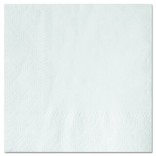 Hoffmaster 9 1/2 x 9 1/2 White Beverage Napkins (Pack of 1,000 Napkins)