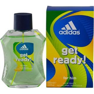 Adidas Get Ready Men's 3.4-ounce Eau de Toilette Spray