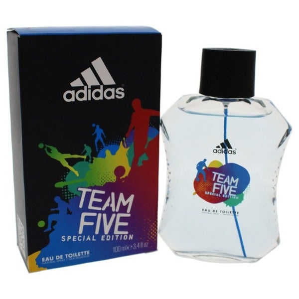 f35d631075f0 Adidas Team Five Men's 3.4-ounce Eau de Toilette Spray (Special Edition)
