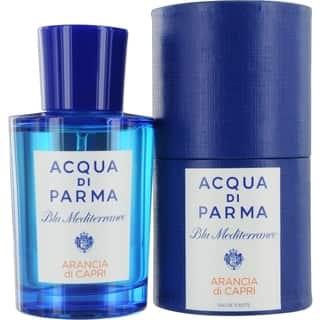 Acqua Di Parma Blue Mediterraneo Men's 2.5-ounce Arancia Di Capri Eau de Toilette Spray|https://ak1.ostkcdn.com/images/products/10359683/P17467599.jpg?impolicy=medium