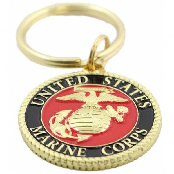 United States Marine Corps Crest Key Ring