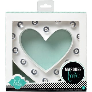 Heidi Swapp Marquee Love Letters, Numbers & Shapes 8.5in