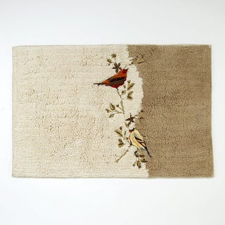 Link to Gilded Birds Bath Rug Similar Items in Soap Dishes & Dispensers