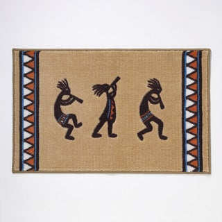 Kokopelli Bath Rug