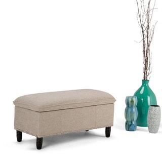 WYNDENHALL Northridge Pillow Top Storage Ottoman Bench