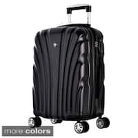 """Olympia """"Vortex"""" 21-inch Carry-on Hardside Spinner Upright Suitcase"""