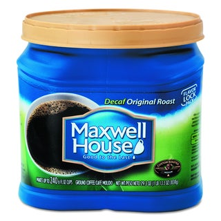 Maxwell House 29.3 oz Decaffeinated Ground Coffee