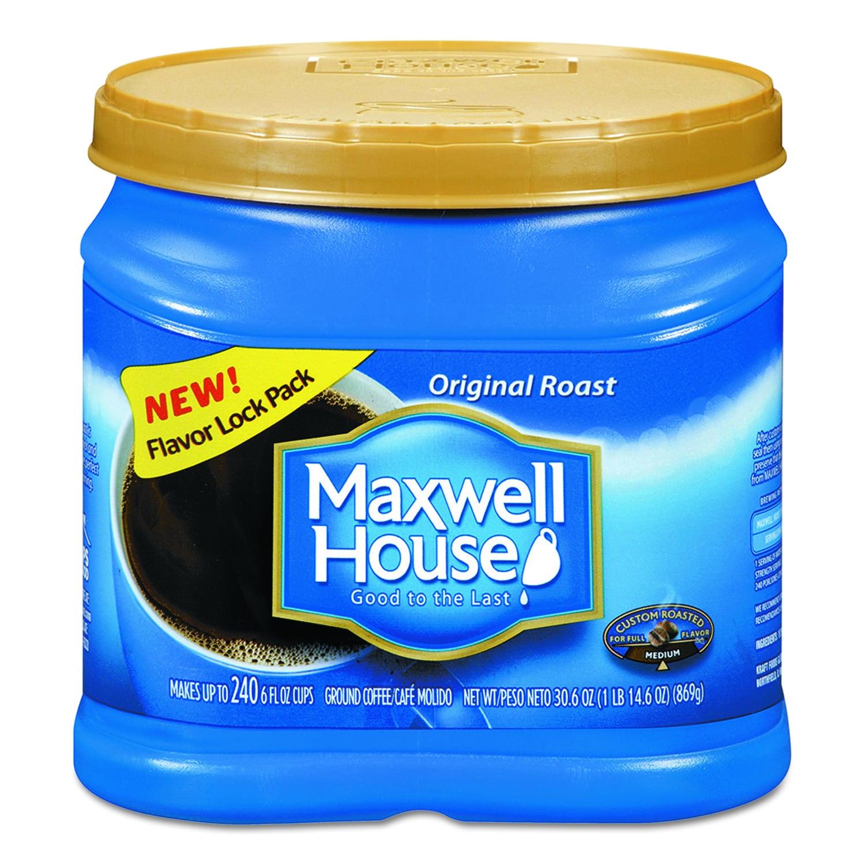Maxwell House Regular 30.6 oz Ground Coffee (Brown) (30.6...