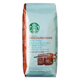 Starbucks 1 lb Ground Decaf Coffee Bag