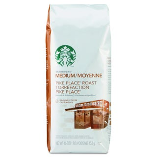 Starbucks Pike Place 1 lb bag Ground Coffee