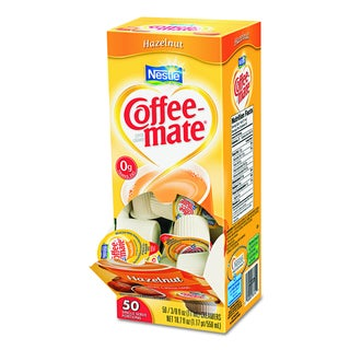 Coffee-mate Hazelnut Creamers (Pack of 200)