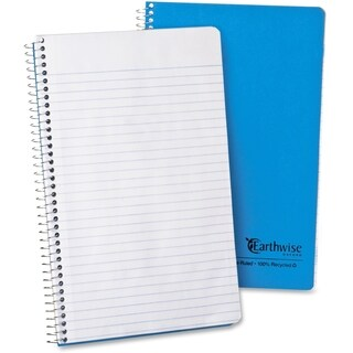 Ampad Earthwise Recycled College Rule Wirebound Notebook