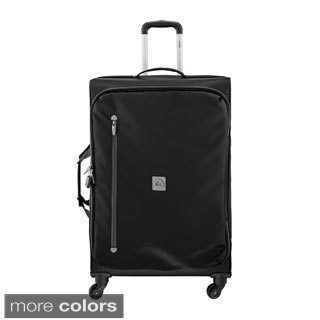 Delsey Solution 28-inch Foldable Spinner Upright Suitcase