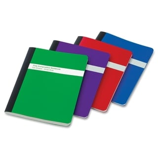 TOPS Poly Cover Wide Rule Composition Book - Assorted Color