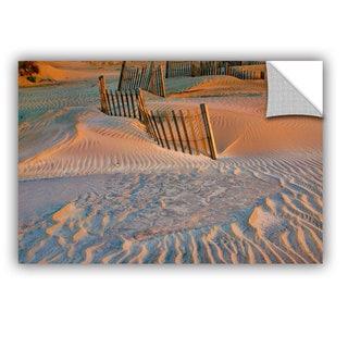 ArtAppealz Steve Ainsworth 'Dune Patterns Ii' Removable Wall Art