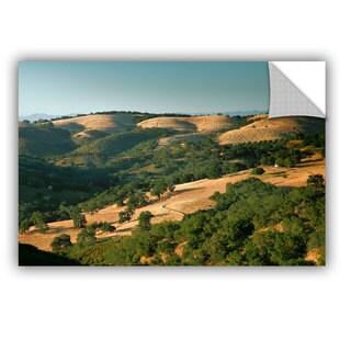 ArtAppealz Steve Ainsworth 'Hills Of California' Removable Wall Art