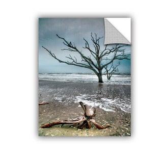 ArtAppealz Steve Ainsworth 'Trees In Surf' Removable Wall Art